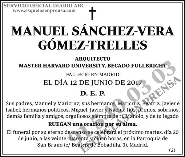Manuel Sánchez-Vera Gómez-Trelles